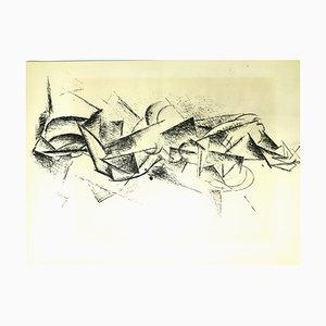 Après Pablo Picasso - Cubism - Pochoir 1962