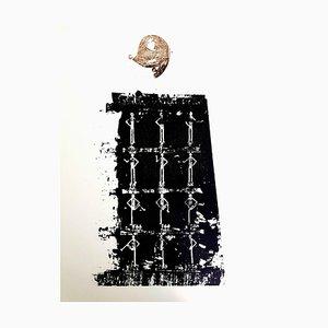 Max Ernst - The Soldier - Litografía original 1972