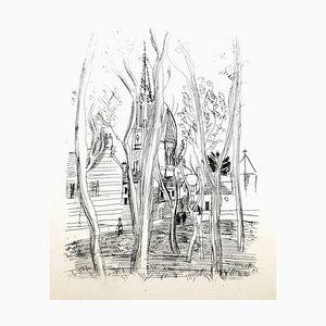 Raoul Dufy - Village - Original Radierung 1940