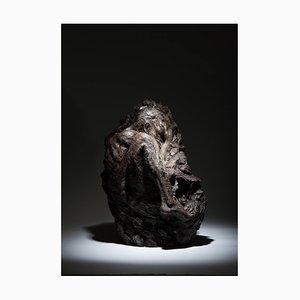 Ian Edwards - Within Unfolding - Original Sculpted Bronze Sculpure 2017