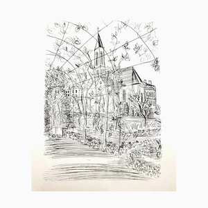 Raoul Dufy - Church - Original Etching 1940