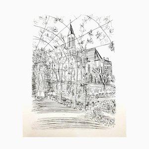 Raoul Dufy - Church - Original Radierung 1940er