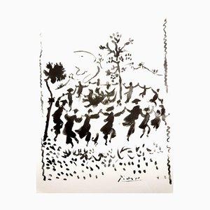 Après Pablo Picasso - Peace Circle - Lithographie 1954