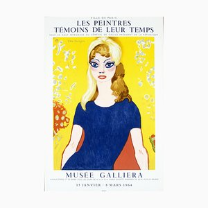 Poster Brigitte Bardot - Exhibition, 1964
