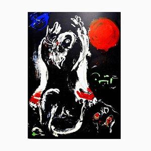 Lithographie de Marc Chagall - The Bible - Original 1956