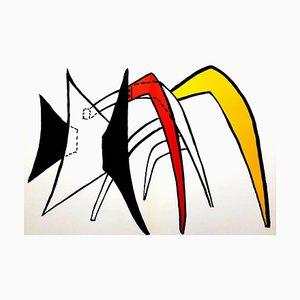 Alexander Calder - Litografía original - de '' Derrière le miroir '' 1976