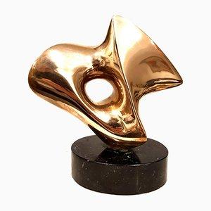 Antoine Poncet - Unikat Bronze Skulptur C.1970