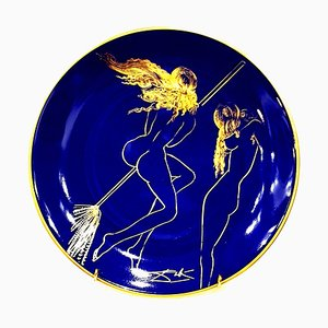 Sabat - Limoges Porcelain Blue and Gold 1968