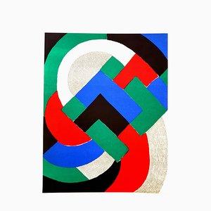 Sonia Delaunay - Composition - Original Lithographie 1972