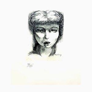Moise Kisling - Woman - Radierung 1940er