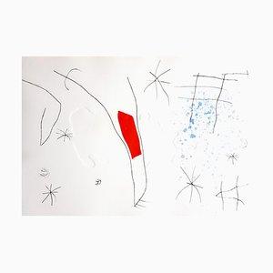 Joan Miro - L'Issue Dérobée - Original Aquatinta 1974