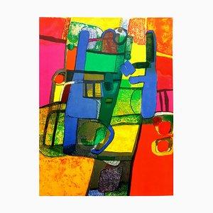 Maurice Estève - Composition - Original Lithographie 1969