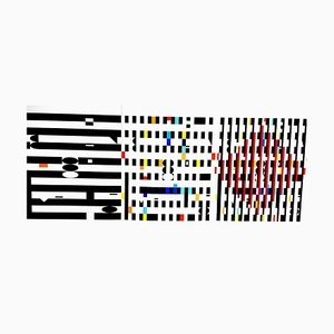 Yaacov Agam - Abstract Composition - Original Lithograph 1971