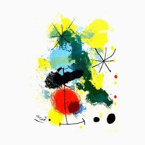Joan Miro - Original Lithographie - Frontispiece für '' Prints from Mourlot Press '' 1964