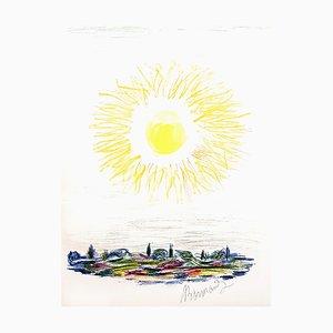 Lithographie Pierre Bonnard - The Sun - Original 1947