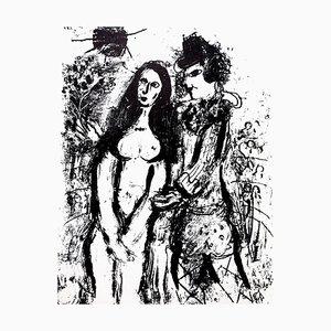 Litografía original Marc Chagall - 1963