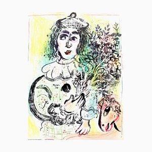 Lithographie Originale de Marc Chagall, 1963