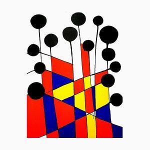 Alexander Calder - Composition - Original Lithographie 1971