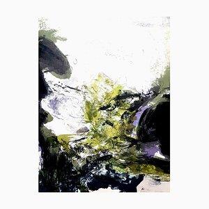 Zao Wou-ki - Original Lithograph - Abstract Composition 1971