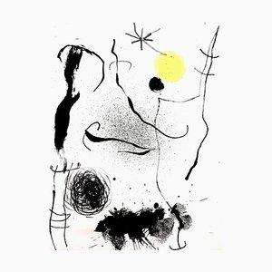 Joan Miro - Original Colorful Lithograph 1964