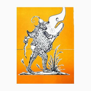 Litografia Salvador Dali - Les Songes Drolatiques, 1973