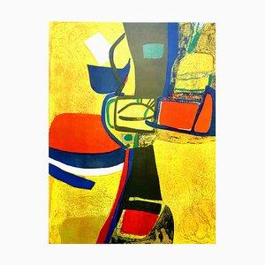 Maurice Estève - Composition - Original litografía 1965