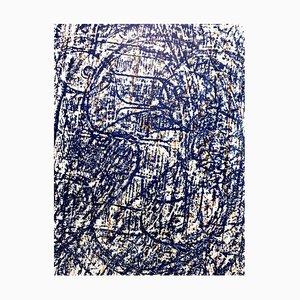 Litografia Max Ernst - Uccelli astratti - 1962