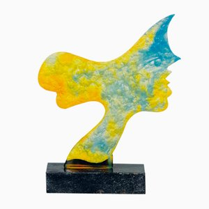 Georges Braque's - Daum Glass Sculpture - Circe