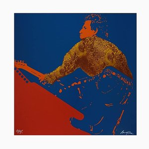 Ivan Messac - Keith Richards - Original Lithography 2012