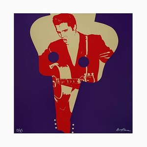 Ivan Messac - Elvis Presley - Original Lithography 2012