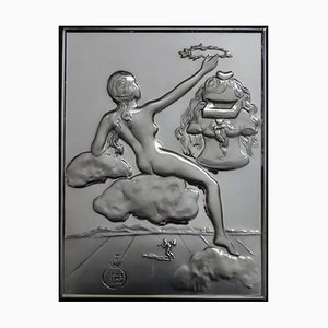 Homage to Philosophy - silver bas relief 1977
