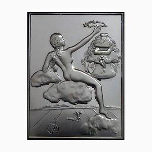 Homenaje a la filosofía - bajorrelieve de plata 1977