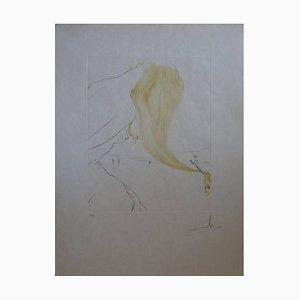 Salvador Dali - Golden Fleece - Gravure originale Signée 1974