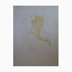 Salvador Dali - Golden Fleece - Original Signed Etching 1974