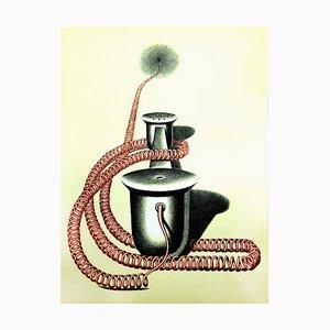 Konrad Klapheck - Original Lithograph 1976