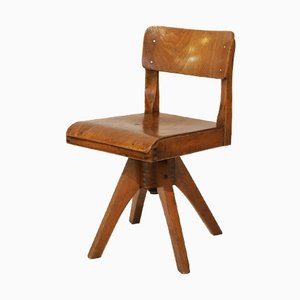 Vintage Wooden Children's Chair by Casala