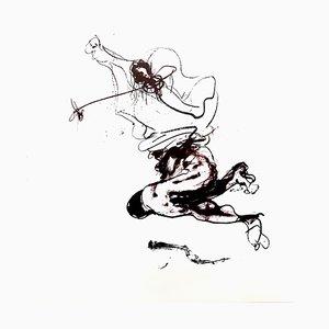 Paul Rebeyrolle - Original Lithografie 1976