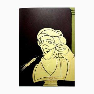 Valerio Adami - Original Lithografie 1976