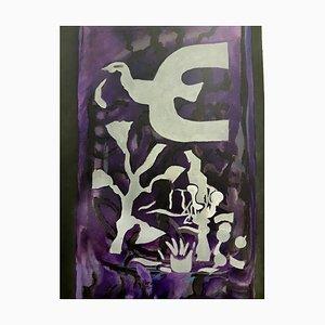 Lithographie nach Georges Braque 1964