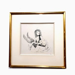 Marie Laurencin - Woman - Original Signed Etching Circa 1940