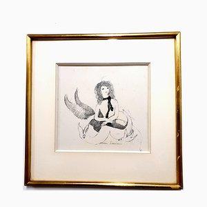 Marie Laurencin - Woman - Signierte Originale Radierung Circa 1940