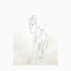 Alberto Giacometti - Original Lithographie von 1964