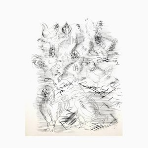 Raoul Dufy - Chickens - Original Etching 1940