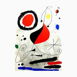 Joan Miro - Original Lithograph from Derriere le Miroir 1964