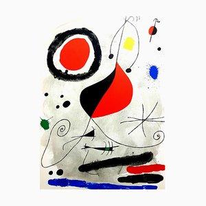 Lithographie Originale de Derriere le Miroir Joan Miro 1964