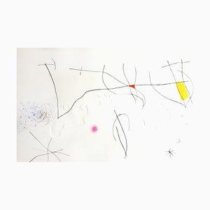 Joan Miro - L'Issue Dérobée: one plate - Original, 1975
