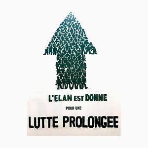 Affiche Mai 68 - French Struggle - Mai 68