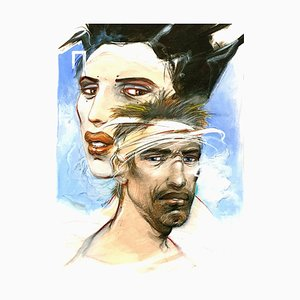 Enki Bilal - Ulysses and Penelope - Original Lithograph 2012