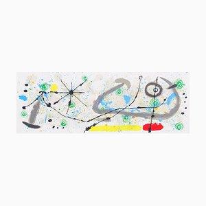 Joan Miro - Teller 8, von Lézard aux plumes d'or 1967