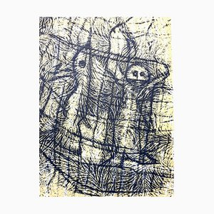 Litografia Max Ernst - Composition - 1958